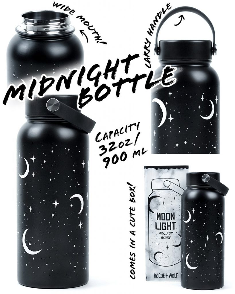 Rogue and Wolf - Moonlight Insulated Bottle - 900ml 32oz