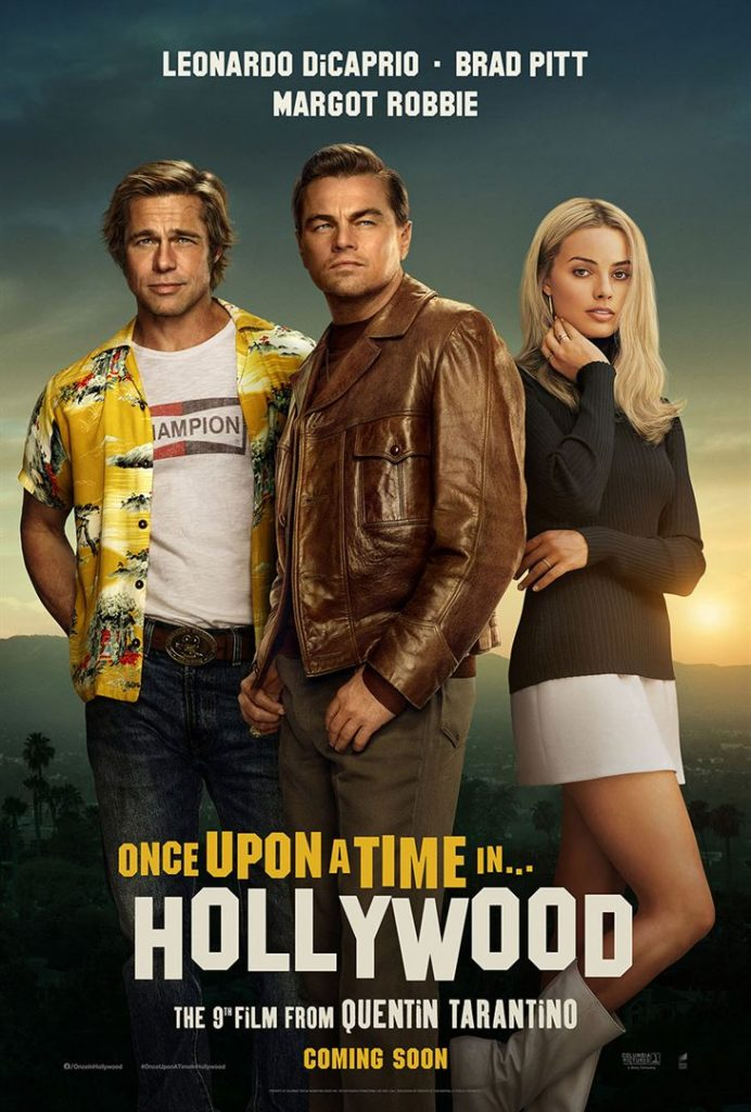 Once Upon a Time… in Hollywood Affiche