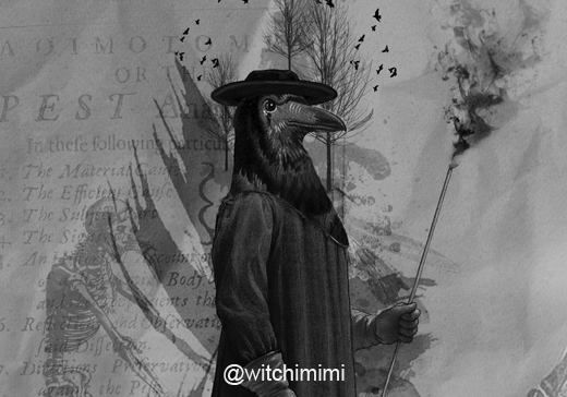 The Plague Doctor by witchimimi