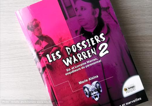 Les Dossiers Warren 2 bannière