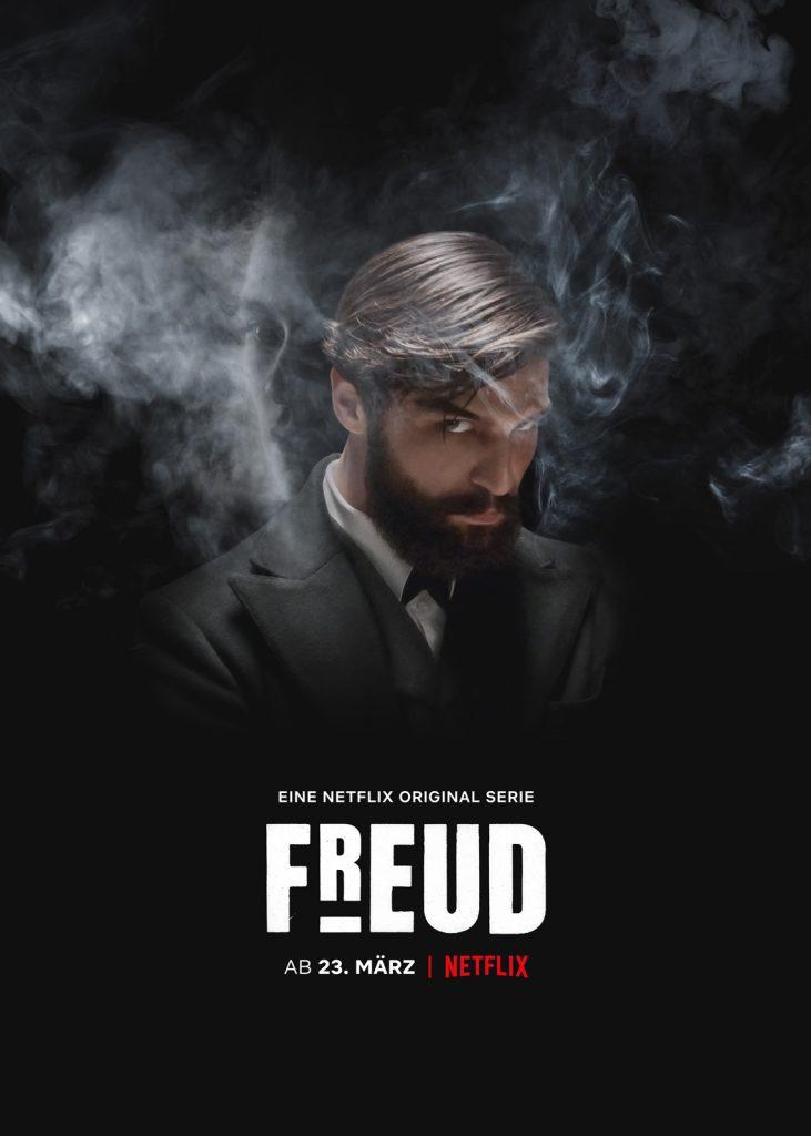 Affiche série Netflix Freud