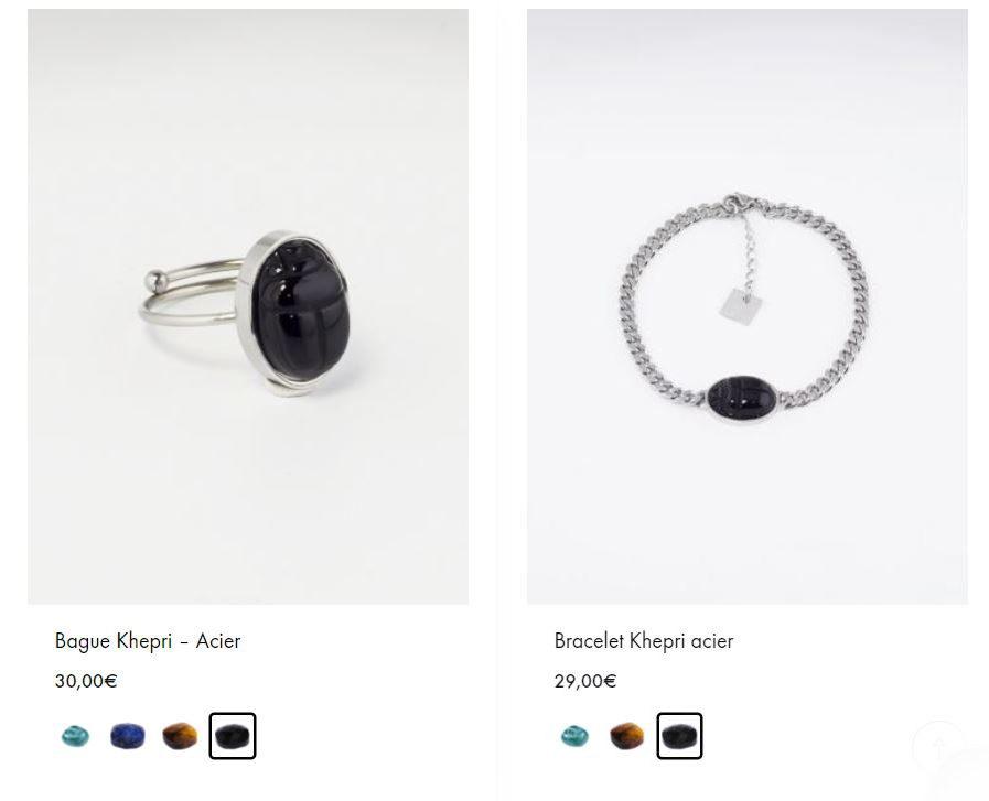 Bague Bracelet Khepri ZAg
