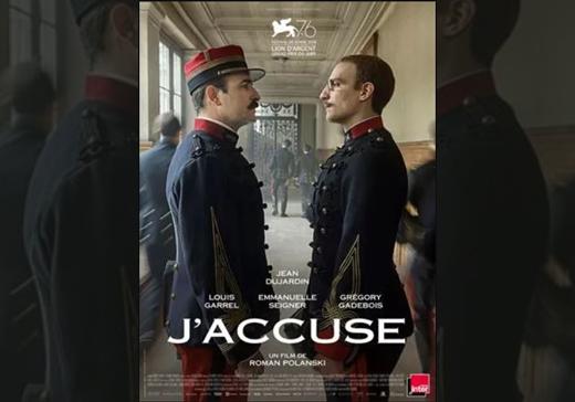 Affiche Film J'accuse
