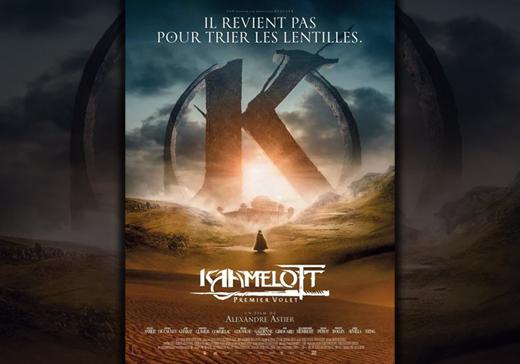 Couverture Affiche film Kaamelott