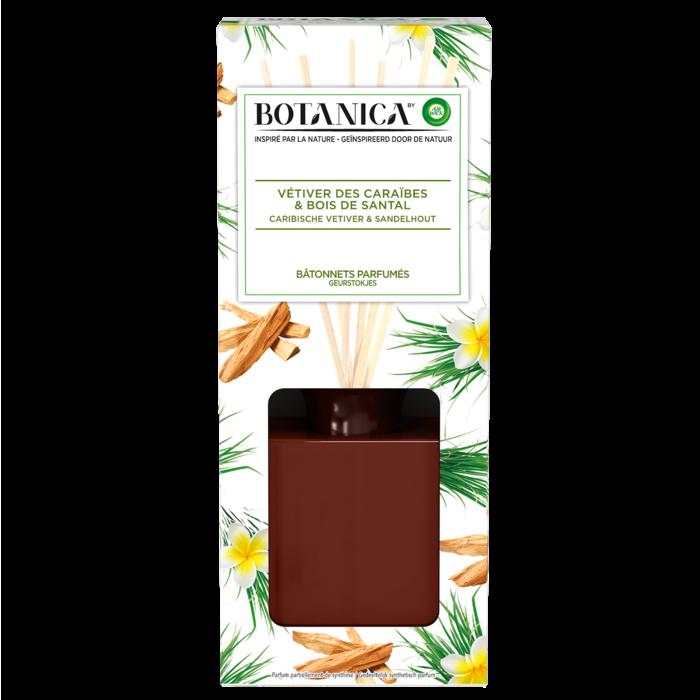 Bâtonnets Parfumés Vétiver & Bois de Santal