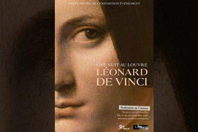 Une nuit au Louvre Léonard de Vinci_couverture